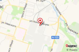 Адрес Электрическая подстанция № 301 Котлас на карте
