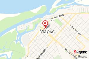 Адрес Газпром межрегионгаз, отделение по Марксовскому и Федоровскому районам на карте