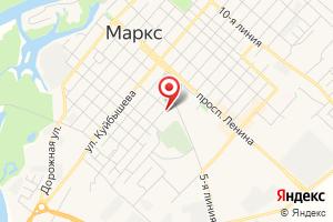 Адрес МУП Марксовские тепловые сети на карте