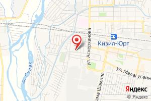 Адрес Кизилюртгаз на карте