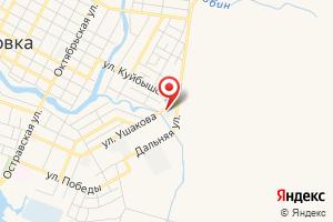 Адрес МУП Водоканал Палласовского района на карте