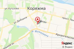 Адрес Котласгазсервис на карте