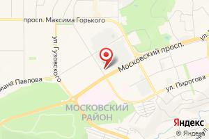 Адрес Газовик на карте