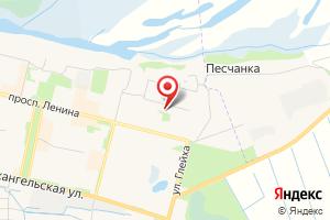 Адрес Газпром межрегионгаз Ухта, Прием населения, г. Коряжма на карте