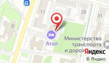 Гостиница Атал на карте