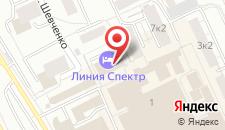 Гостиница Линия Спектр на карте