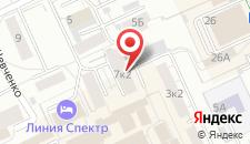 Гостиница Центр на карте
