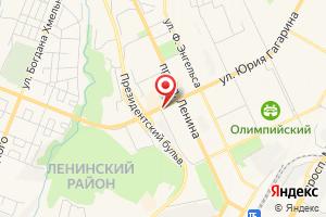 Адрес Газпром межрегионгаз Чебоксары, Чебоксарский территориальный участок на карте