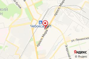 Адрес Газпром межрегионгаз Чебоксары, Чебоксарский территориальный участок, Калининский абонентский пункт на карте