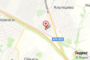 Адрес Энерго-Актив на карте