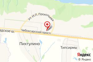 Адрес Трансформаторная подстанция № 802 на карте