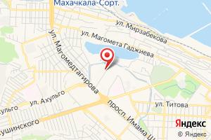 Адрес Даггаз на карте