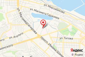 Адрес Газпром газораспределение Махачкала на карте