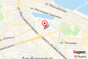Адрес Аварийная Служба, Махачкалагаз на карте