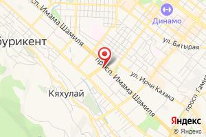 Адрес Газпром межрегионгаз Махачкала, абонентский отдел на карте