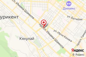 Адрес Газпром газораспределение Махачкала, единый центр газификации и работы с потребителями на карте