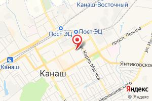 Адрес Газпром межрегионгаз Чебоксары, Канашский территориальный участок, Канашский абонентский пункт на карте