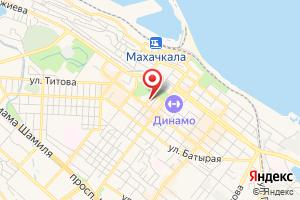 Адрес Газпром газораспределение Дагестан на карте