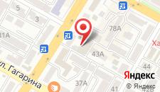 Гостиница Усадьба на карте