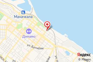 Адрес Газпром межрегионгаз, филиал в Дагестане на карте