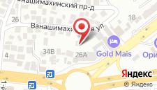 Гостиница GOLD MAIS на карте