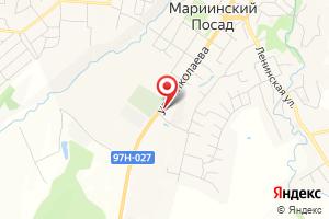 Адрес Газпром межрегионгаз Чебоксары, Новочебоксарский территориальный участок, Мариинско-Посадский абонентский пункт на карте