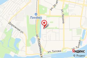 Адрес Электрическая подстанция Линевская на карте