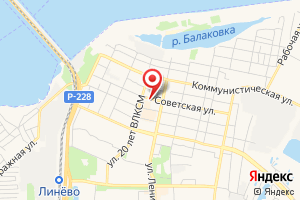 Адрес Электрические сети на карте