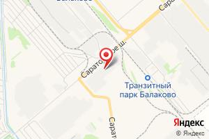 Адрес Балаковский РЭС на карте