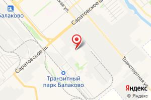 Адрес Балаковское представительство Энергомашкомплект на карте