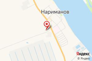 Адрес Газпром газораспределение Астрахань, Наримановская районная служба на карте