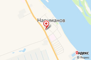 Адрес Газпром межрегионгаз, абонентский пункт в г. Нариманов на карте
