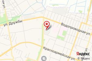 Адрес Очистные сооружения МУП Водоканал на карте