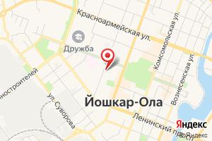 Адрес Газпром газораспределение Йошкар-Ола на карте
