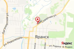 Адрес Яранские электрические сети, Производственное отделение. филиал Кировэнерго на карте