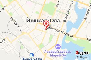 Адрес Газсервис на карте