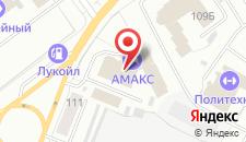 Гостиница АМАКС Сити Отель на карте