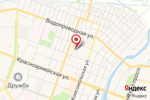 Адрес ГазТеплоСтрой на карте
