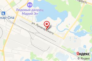 Адрес Газпром межрегионгаз Йошкар-Ола на карте