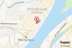 Адрес Газпром межрегионгаз Астрахань. Астраханский территориальный участок. Трусовский абонентский пункт на карте