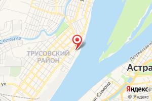 Адрес МУП г. Астрахань Водоканал ПСВ № 1 на карте