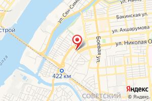 Адрес Астрводоканал перекачечная станция на карте