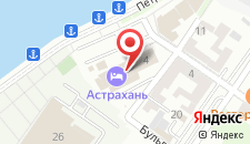 Отель АЗИМУТ Отель Астрахань на карте