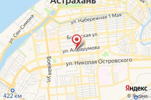 Адрес Астраханьоблгаз на карте