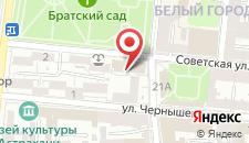 Гостиница Новомосковская на карте
