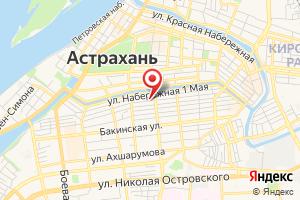 Адрес Астраханьюжгазпроект на карте