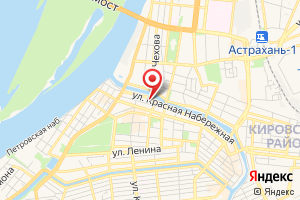 Адрес МРСК Юга-Астраханьэнерго на карте