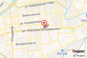 Адрес Канализационно-насосная Станция № 58 Астрводоканала на карте