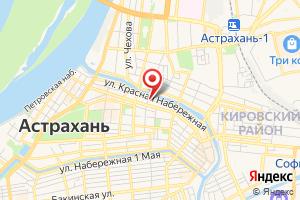 Адрес Канализационно-насосная Станция № 1 Астрводоканала на карте