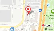 Гостиница Сакура на карте